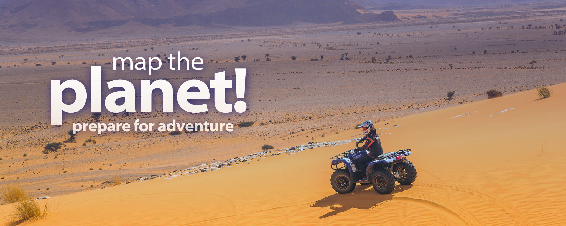 Memory Map The Planet Prepare For Adventure Atv Sand