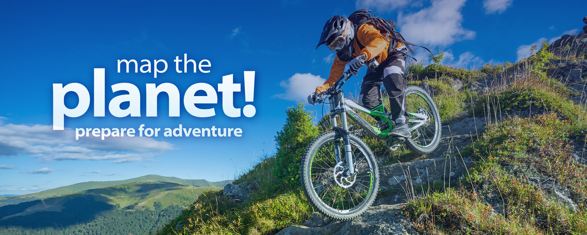 Memory Map The Planet Prepare For Adventure Mountain Bike